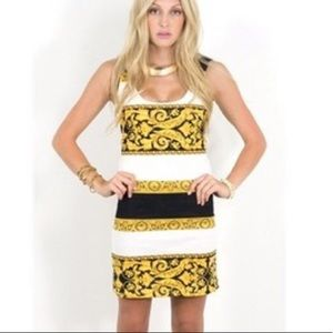 MINKPINK Donatella Bodycon Dress Size Extra Small